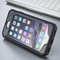 Nueva llegada fresca 360 grado case cubierta de plástico duro para fundas iphone 5s 6 s plus teléfono case + pantalla a prueba de agua a prueba de golpes de coque
