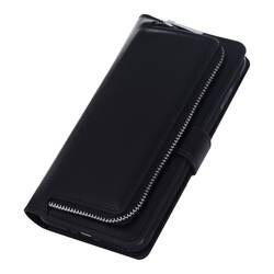 MXHYQ роскошный кожаный с карты карман на молнии флип чехол для iphone 7 8 7 plus 8 плюс для телефона случаях 071