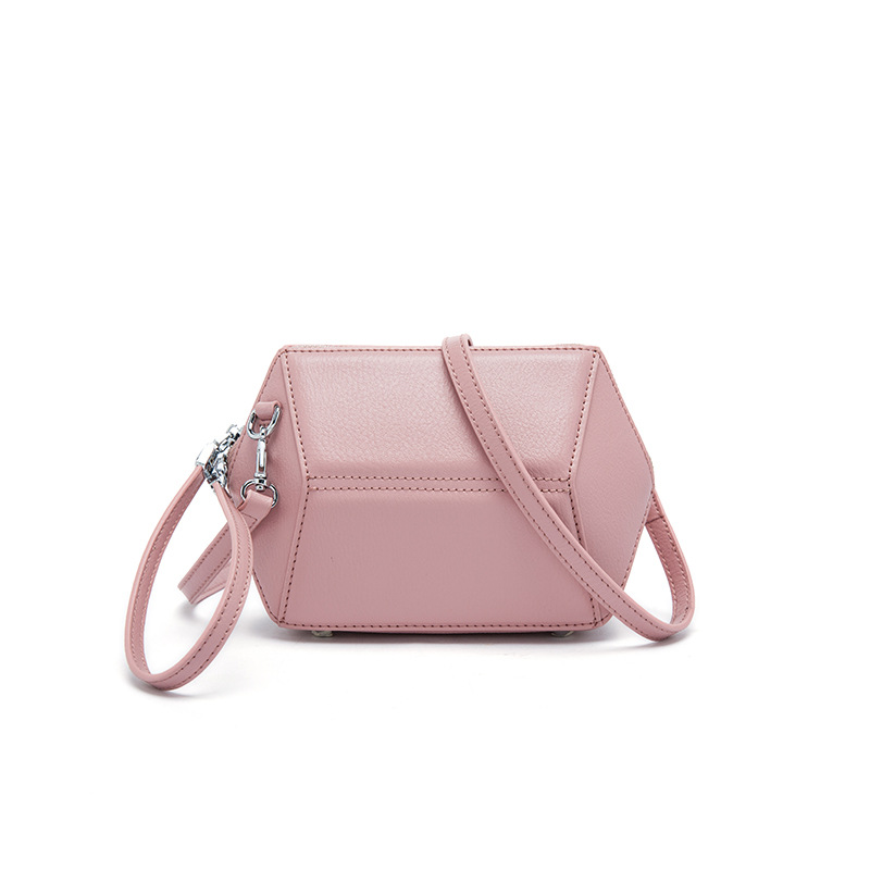 Korean version of the simple stitching leather handbags solid geometry shell leather diagonal shoulder bag handbag environmentally friendly pvc inflatable shell water floating row of a variety of swimming pearl shell swimming ring