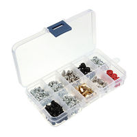 Best Price 228Pcs Pack Screws Kit For Motherboard PC Case Fan CD ROM Hard Disk Notebook