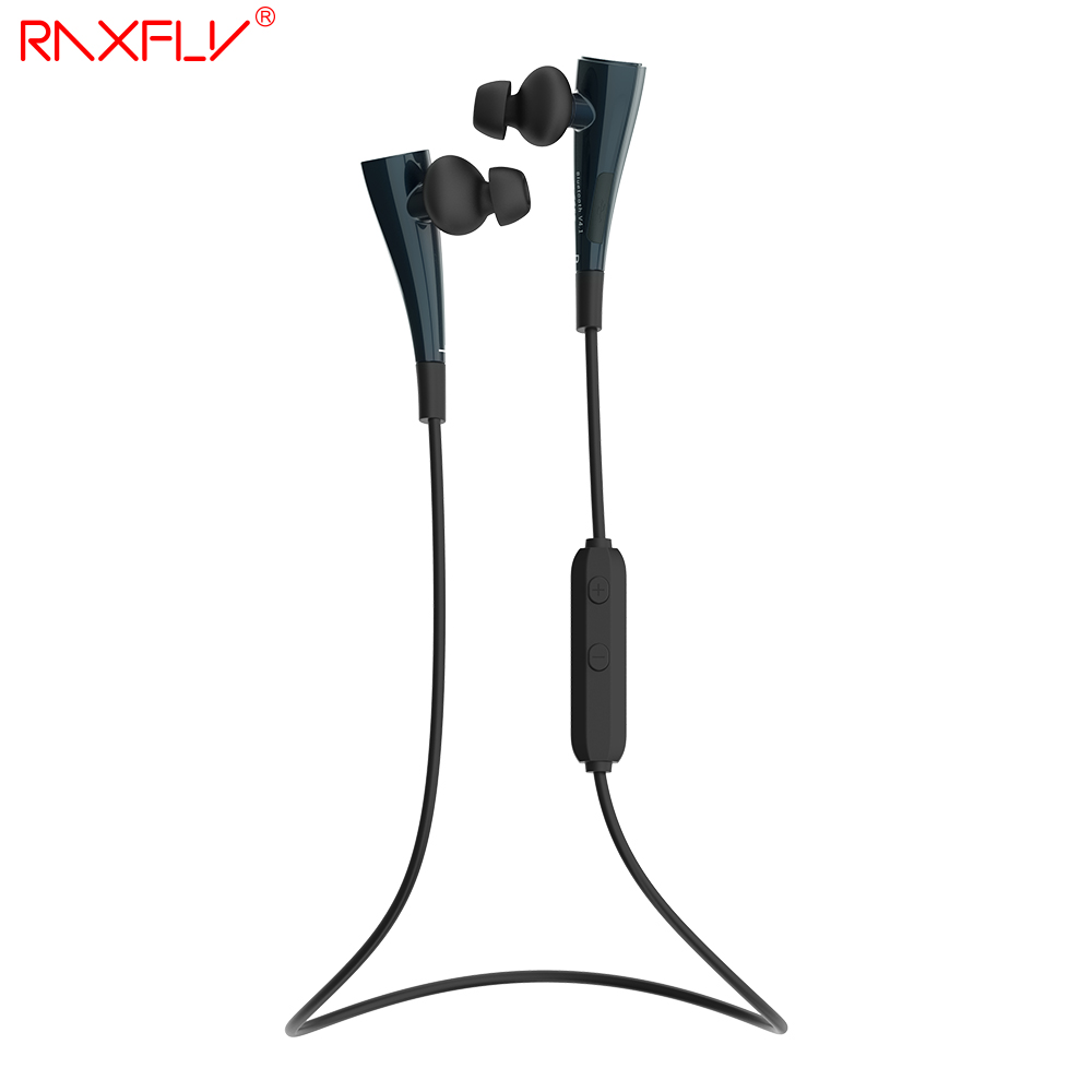RAXFLY G11 Bluetooth Earphone Wireless In-Ear Headset Stereo Music Sport Running Earpiece With Mic for iPhone Xiaomi Huawei  wireless music bluetooth headset 4 mini head wear sport ear hanging ear type 4 1 universal running stereo can insert card radio