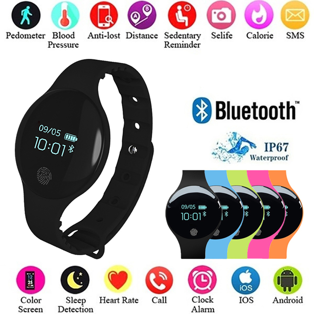 Fashion Watches Girls Boys Electronic LED Digital Wristwatch Child Clock Smartwa