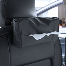 Car Interior Accessories Container Napkins Holder Styling Tissue Box Portable Convenient Cover Leather