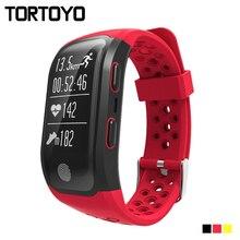 Smartband S908 Smart Bracelet GPS IP68 Waterproof Touch Key Heart Rate Monitor Bluetooth 4.2 Fitness Tracker Smart Wristband G03