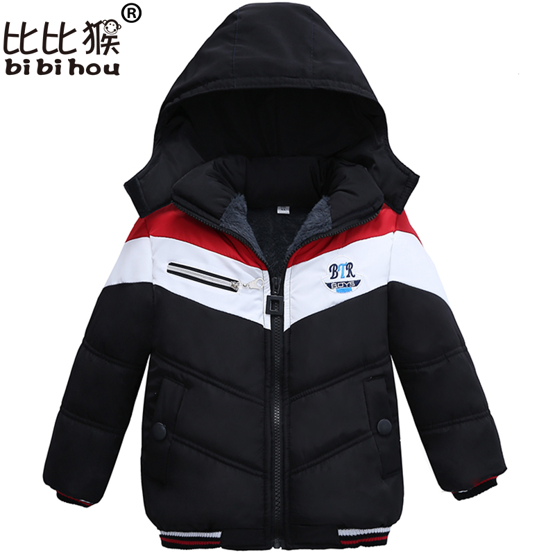 Bbihou Fashion Patchwork Boys Jacket&Outwear Warm hooded Winter jackets for boy Girls coat Children parka Clothing Boys Coat игорь реш актерское мастерство для чайников теория