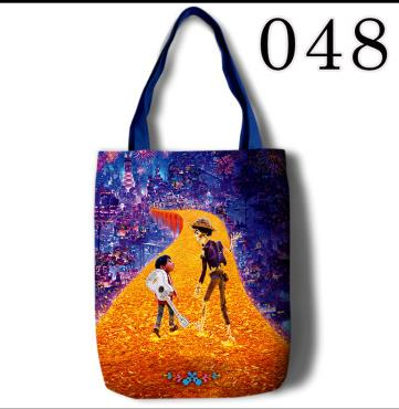 45*35cm COCO Remenber Me Canvas Gift Bags Shopping Bag for Party Decor High Quality