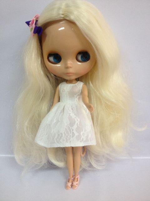 Aliexpresscom  Buy Free Mixed White Hair Nude Doll, Tan -9947