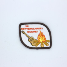 Aegismic custom embroidery chapter clothes patch personalized
