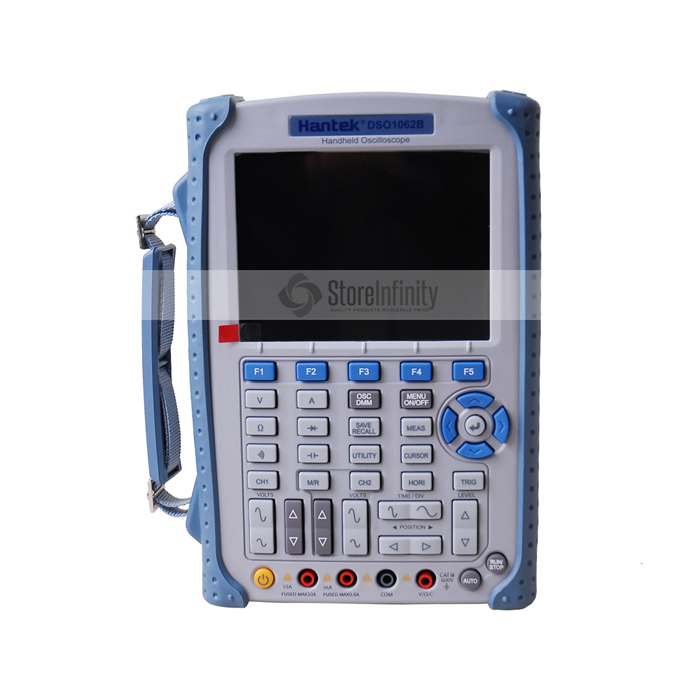 Hantek DSO1062B Handheld Oscilloscope 2 Channels 60MHZ 1GSa/s sample rate 1M Memory Depth 6000 Counts DMM with analog bargraph updated from dso 1060 hantek dso1062b handheld oscilloscope 2 channels 60mhz 1gsa s sample rate 1m memory depth 6000 counts dmm
