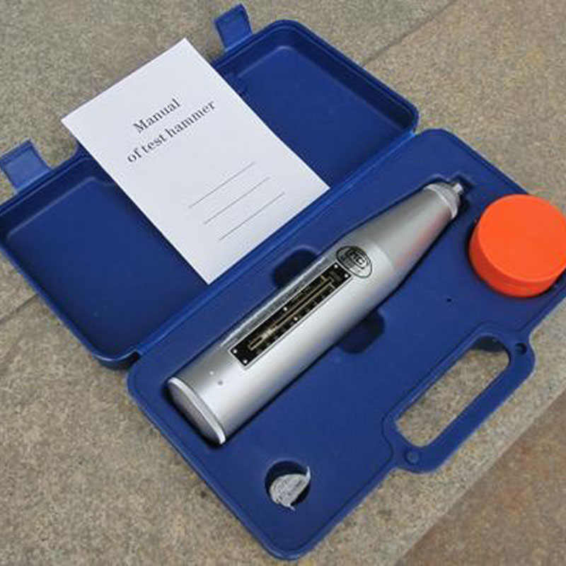 Rebond béton Test Marteau Portable Schmidt Marteau Haute Matériau Polymère Shell Résiliomètre L'équipement D'essai HT-225B