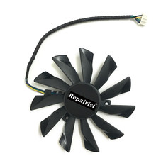 GPU Cooler 95mm 4 Pin PLD10010S12HH Graphics Card Fan Cooler For Radeon MSI GTX 770 760 R9 280X 290X as Replacement