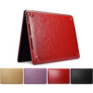 Чехол для ноутбука Macbook Pro 13 2019 A2159 A1989 A1706 A1708 Роскошный чехол из искусственной кожи для Macbook Pro 15 A1707 A1990