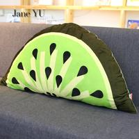 JaneYU Cartoon Bedside Cushion Child Bed Pillow Princess Bedroom Bed Bed By Tatami Soft Bag Removable Backrest