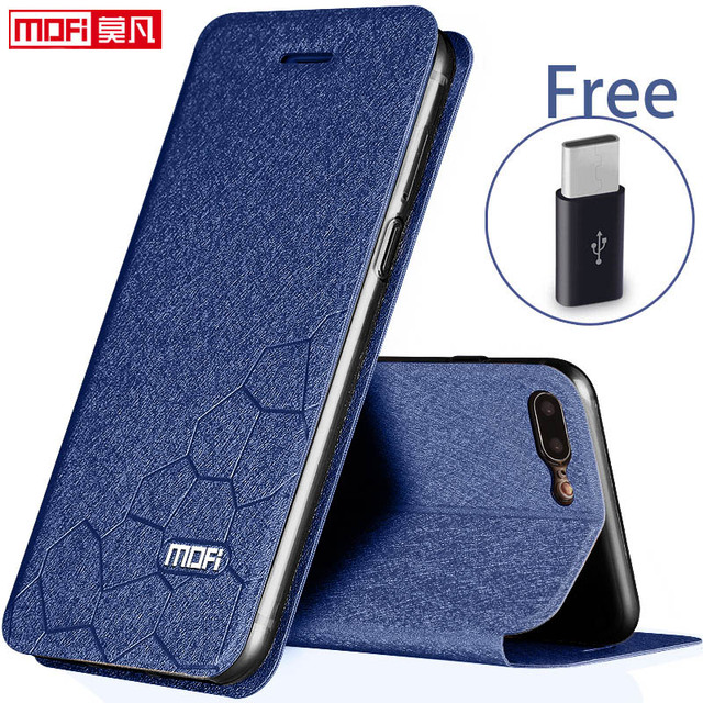 OnePlus 5 Case OnePlus 5 Cover Case Flip Leather Glitter Mofi Soft Silicone Back Coque OnePlus5 One Plus A5000 OnePlus 5 Case