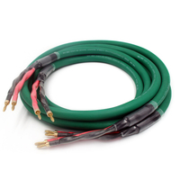 pair Pure Copper Audiophile Speaker cable hifi loudspeaker cable