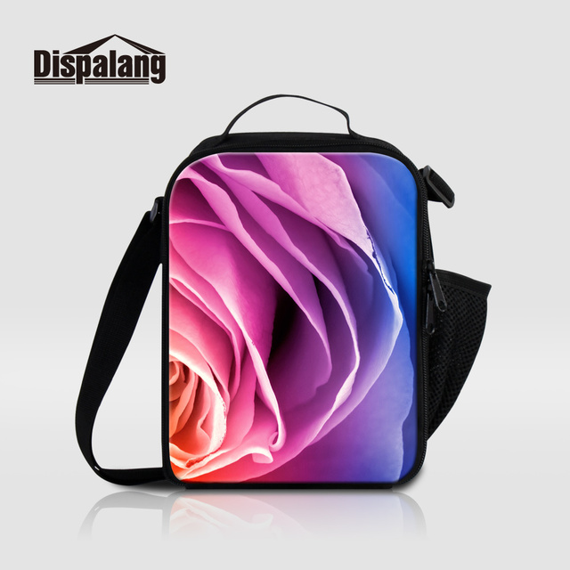 597eb9a5eb9e US $16.99 32% OFF|Dispalang Thermal Food Picnic Lunch Bag For Women Cooler  Lunch Box Flower Designer Lunch Bags For Adults New Girly Bolsa Termica-in  ...