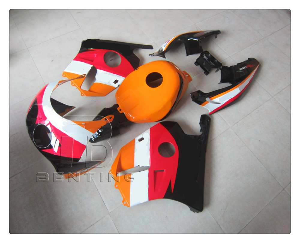 Motorcycle Repsol Fairings Cowl Body Work Kit For HONDA CBR250RR CBR 250 RR / MC22