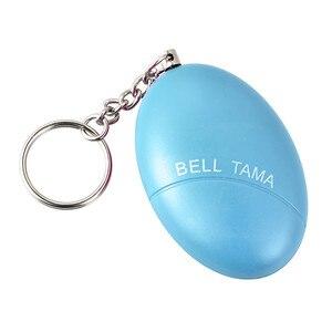 Image 2 - Self Defense Alarm 100dB Egg Shape Girl Women Security Protect Alert Personal Safety Scream Loud Keychain Emergency Alarm