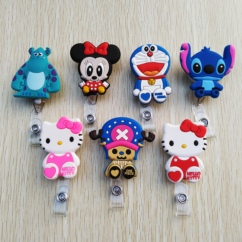Badge Holder & Accessories Big Sale Mini Animal Family Retractable Badge Reel Student Nurse Exihibiton Id Identification Card Badge Holder Office Supplies Back To Search Resultsoffice & School Supplies