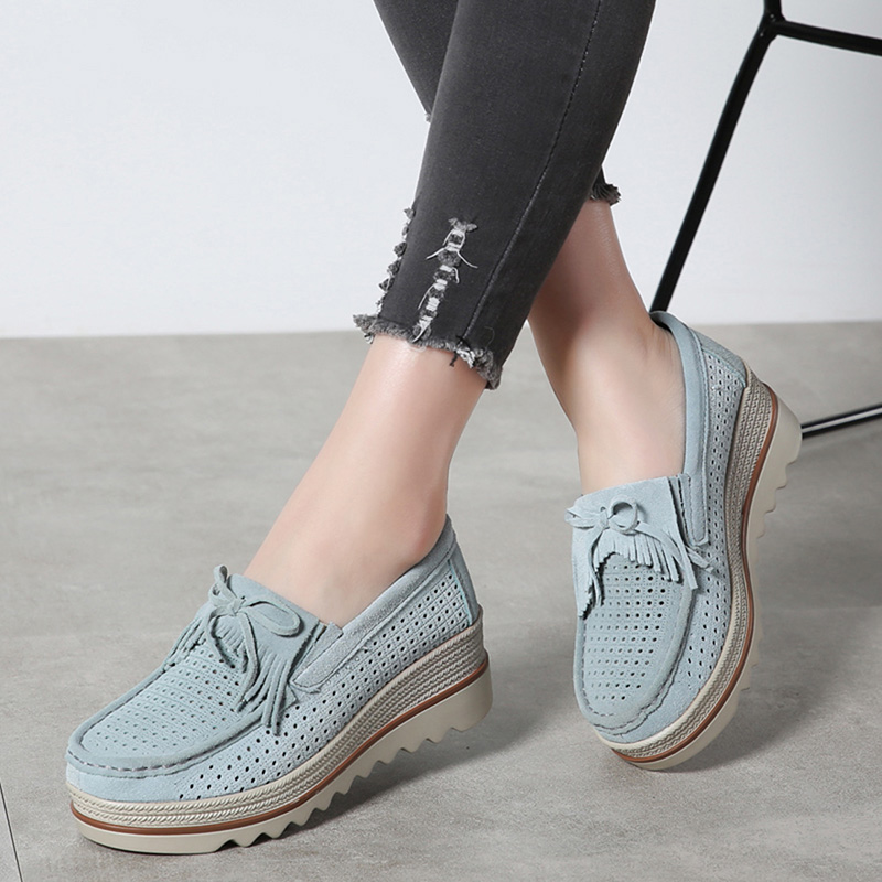 HX 3088 Platform Flats Shoes Women-19