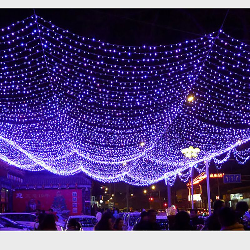 12 M / 100 22 M / 200 Christmas LED Festival Lights LED String Lamp Fairy Light Waterproof Outdoor Garden Party Decoration Rope
