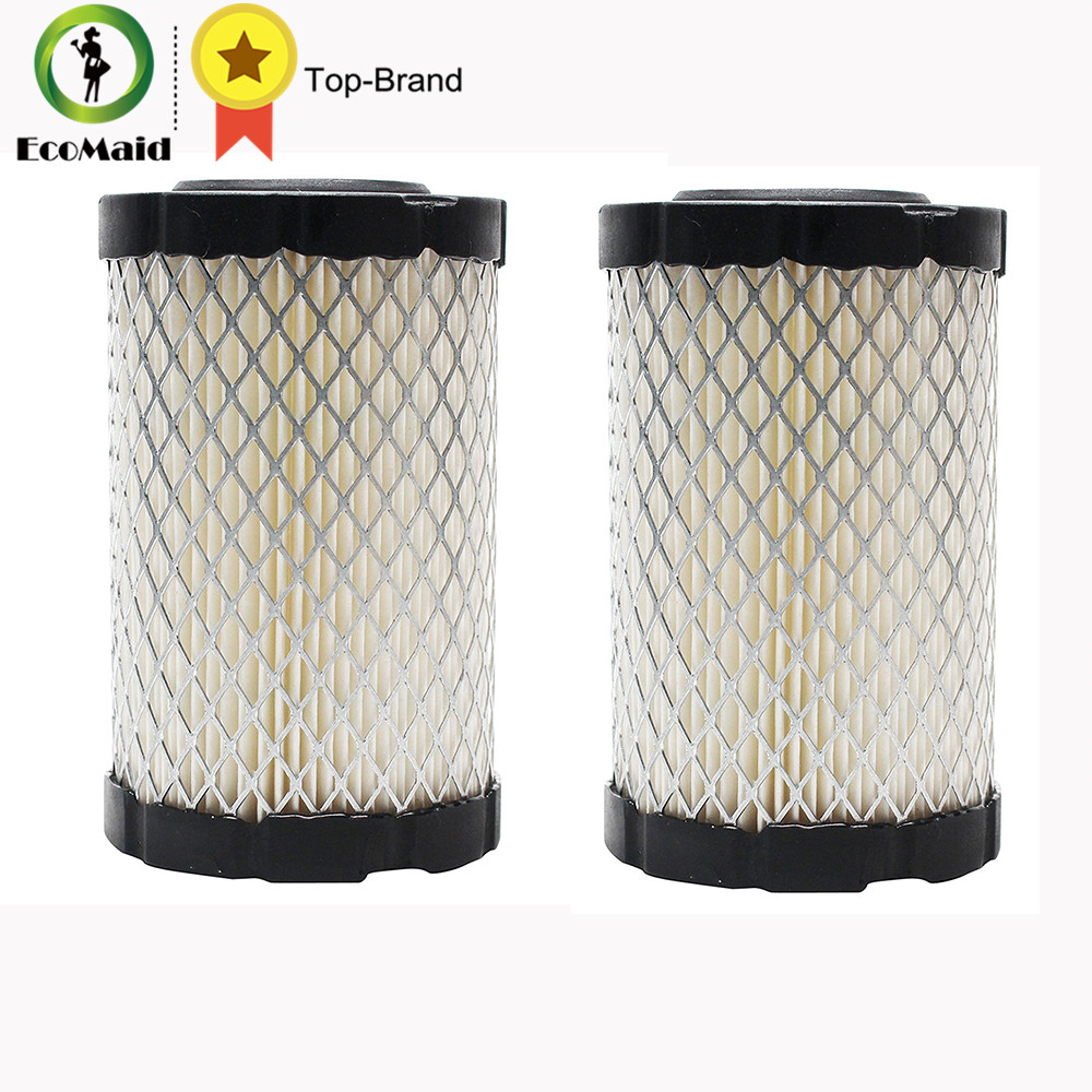 Air Filter for Briggs and Stratton Lawn Mower 796031 Filter Cleaner Part for Briggs 2 pack air filter cleaner pre filter for briggs stratton 792105 john deere miu11515 gy21057 replacement lawn mower parts 5 packs