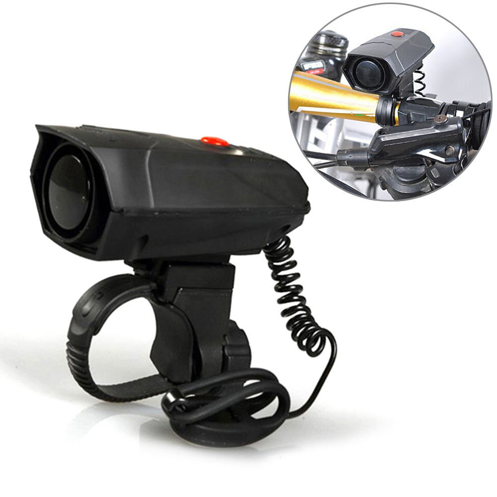 Bicycle Cycling Electronic Horns Bike Handlebar Ring Bell Horn Loud Air Alarm Bell Sound 110db bike Horn Safety west biking bicycle bell pure copper bike sound handlebar ring horn safety alarm bell timbre bicicleta accessories bicycle bell