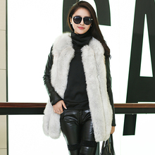 New Arrival Women Real Fur Vests High Quality Real Fox Fur Vest Real Fur Waistcoat For
