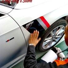 Супер крутые наклейки в спортивном стиле для VW AUDI A3 A4 B8 B9/A5/A6 C7/A7/Q3/Q5/Q7/Q2 R8 TT для стайлинга автомобилей