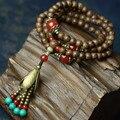 Mulheres Pulseira de 2016 Novos Acessórios DIY Contas Ágata TurquoiseTrendy Bangles Moda Jóias Finas Elasticidade Pulseiras S063