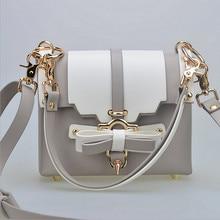 New High Quality Handbag Rivet Ladies Evening Hasp Bag Female Wedding Bowknot Fashion Leather Shoulder Bag Female Crossbody Bags