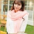 70 x 180 см новый 2016 мода шарф женщин конфеты цвет мягкая шаль шарфы женский плащ 27 цвета