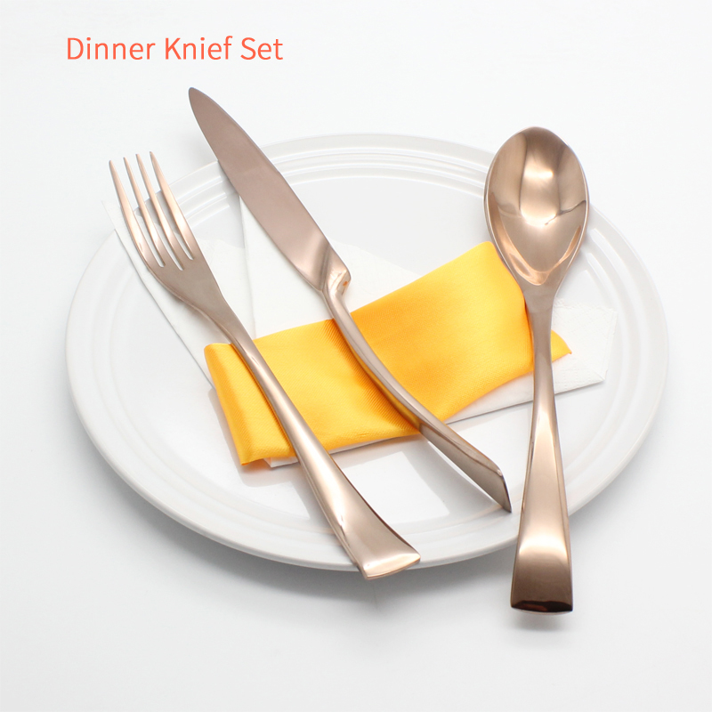 Gold Kitchen Knife Set