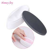 ABS Strong Dipping Powder Container Dual Use for Short Extended NailEasy French Guide Manicure Molding for White Pink Smile Line