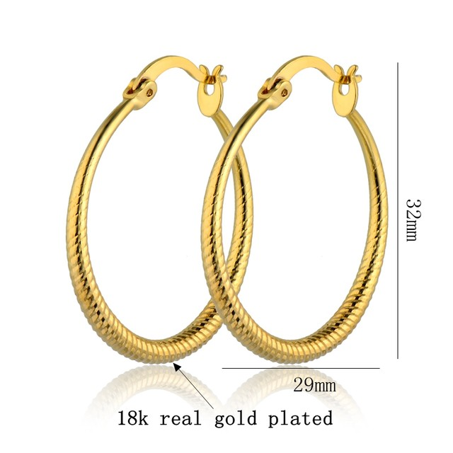 Online Shop Brinco Round Earrings Hoops Wholesale 2017 New York