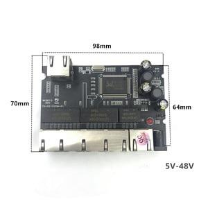 Image 5 - Industrial Ethernet Switch Module 5/6/8 Ports Unmanaged10/100/1000mbps  OEM Auto sensing Ports PCBA board OEM Motherboard