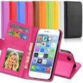 Bolso de cuero de lujo retro flip case para apple iphone5 5s 5g sí foto marco soporte de la carpeta cubierta de la bolsa del teléfono celular para iphone 5s se