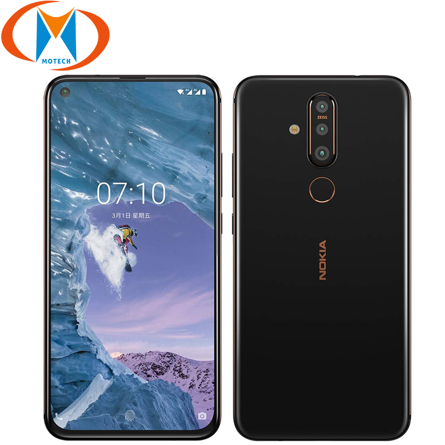"""Original Nokia X71 6GB RAM 128GB ROM Mobile Phone 6.39"""" Snapdragon 660 Octa Core Android 9 48MP Camera Fingerprint 4G Smartphone-in Cellphones from Cellphones & Telecommunications    1"""