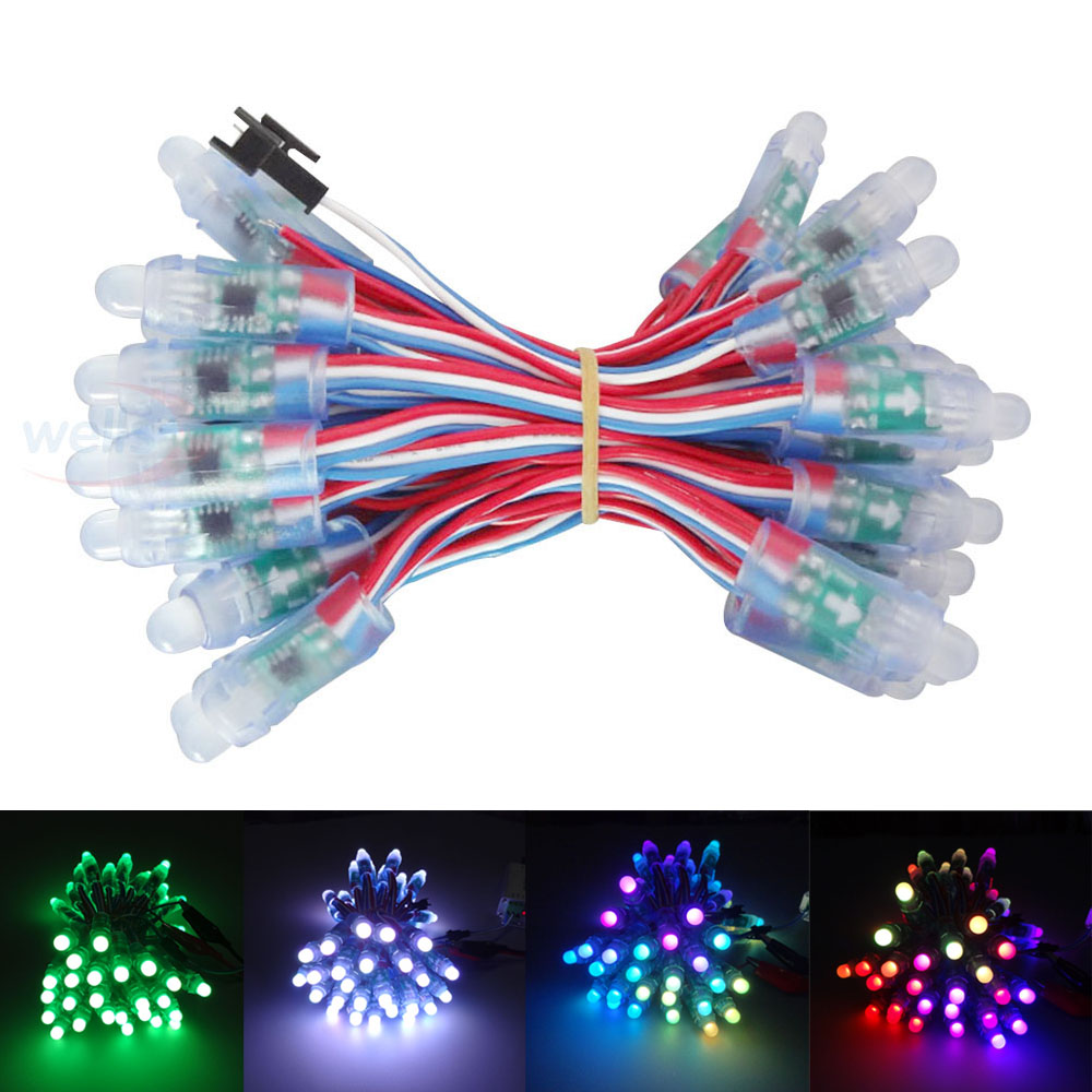 Regulated Switching Power Supply Dc18v 2a 3a 5a 10a 20a Swich Driver Regulator 12v 20a1 50pcs Ws2811 Lpd6803 Ws2801ic Dmx512 Optionally Led String Pixel Module 12mm Rgb