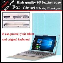 Original High quality Business Folio stand font b keyboard b font case For CHUWI HiBook Pro