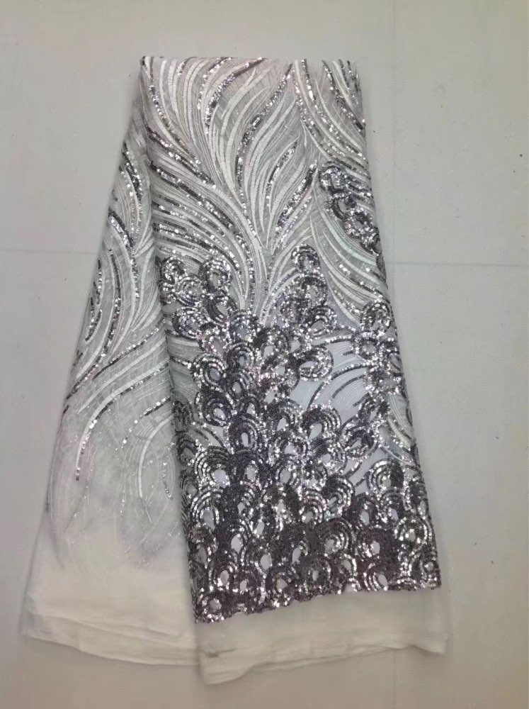 Nueva llegada Material bordado de lentejuelas textil para vestido de costura-in Tela from Hogar y Mascotas on AliExpress - 11.11_Double 11_Singles' Day 1