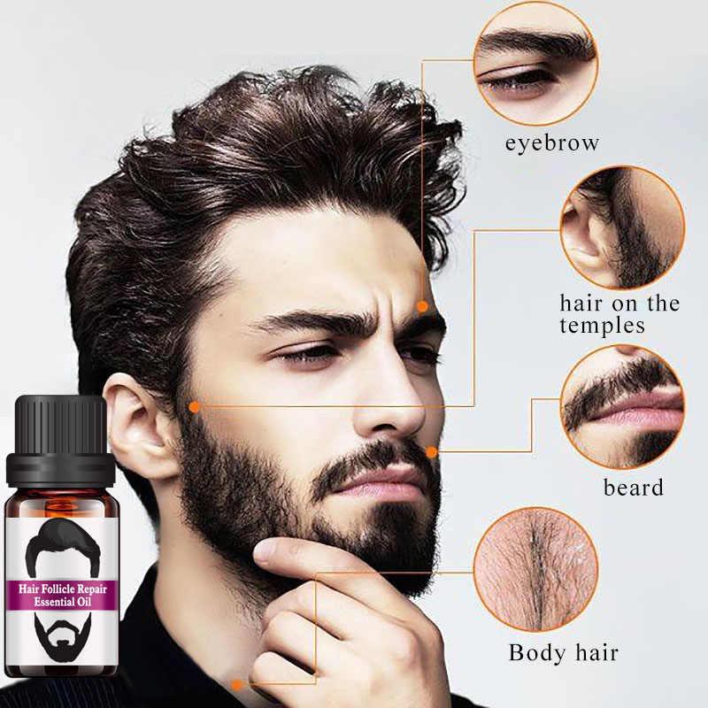 2019 Saç Folikülü Onarım Yağı Erkekler Şekillendirici Bıyık Yağı Saç Büyüme Sakal Vücut Kaş Bakım Nemlendirici Yumuşatıcı 10ml