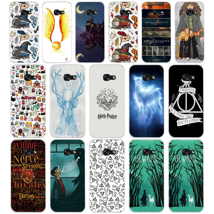 7f01a3dfa730 Detail Feedback Questions about 100AQ Chibi Harry Potter Doodle Art Soft  Silicone Tpu Cover phone Case for Samsung galaxy a3 a5 2016 2017 a6 A8 2018  on ...