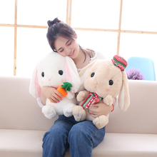 4Colors Cute Down Cotton Hanging ear rabbit Plush Toy Cartoon bunny Dolls Kawaii toy For Children Gift For Girl freddy toys