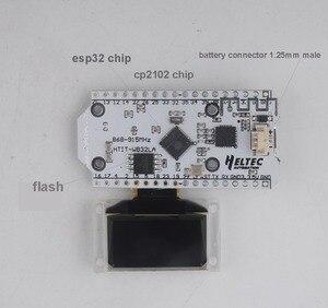 Image 4 - Макетная плата Lora, 0,96 дюйма, OLED, ESP32, SX1276, Wi Fi, Bluetooth, 868 МГц, Lora Kit, 32 модуля IOT (с штырьком для сварки)