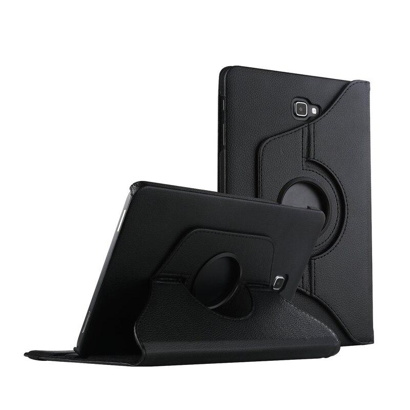 Para Samsung Galaxy Tab a A6 10.1 caso, 360 grados que giran el soporte cubierta para GALAXY Tab a 10.1 2016 sm-t580 t585 t587 Tablets Carcasas