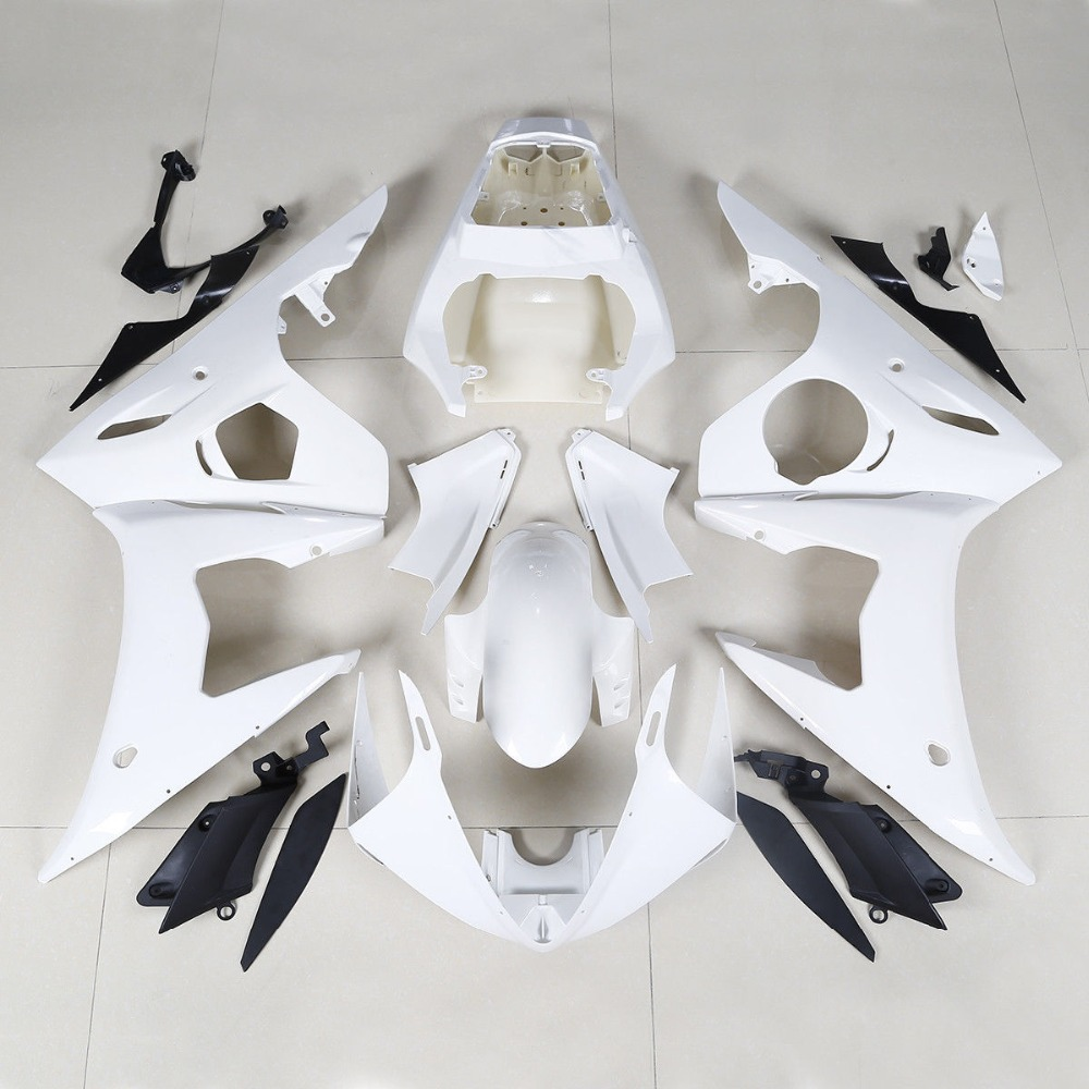 Motorcycle Fairing BodyWork Kit For Yamaha YZF R6 YZF R6 2005 INJECTION MOLDED ABS plastic