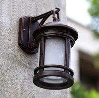 Садовый высококачественный наружный светодиодный настенный светильник водонепроницаемый уличный настенный светильник содержит светодио