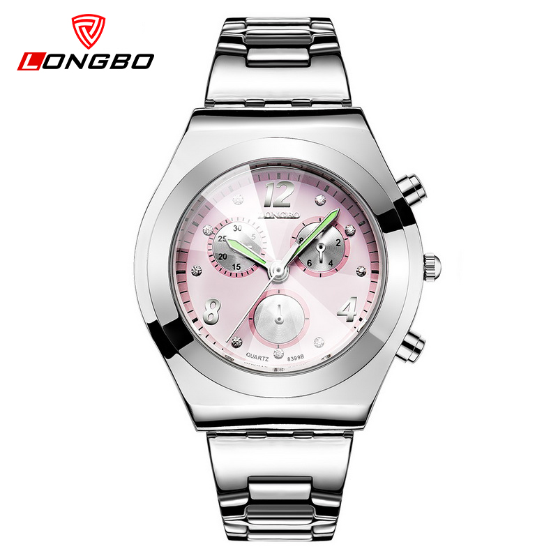 Prix pour Imperméable de luxe femmes montres dames de mode montre à quartz femmes montre-bracelet robe relogio feminino casual reloj mujer LB8399