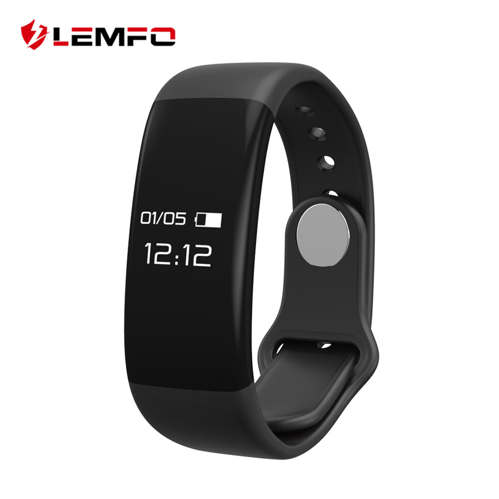 LEMFO Smart Band Sport Fitness Bracelet For Men Wumen Heart Rate Monitor Pedometer Compatible Android IOS Watch Wristband